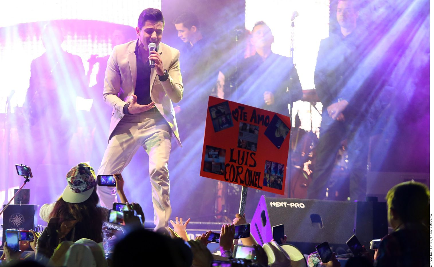 Luis Coronel se alista para ganar más admiradores en el reality musical Va Por Ti, que se transmitirá por Univisión y en el que será capitán de un equipo. /AGENCIA REFORMA