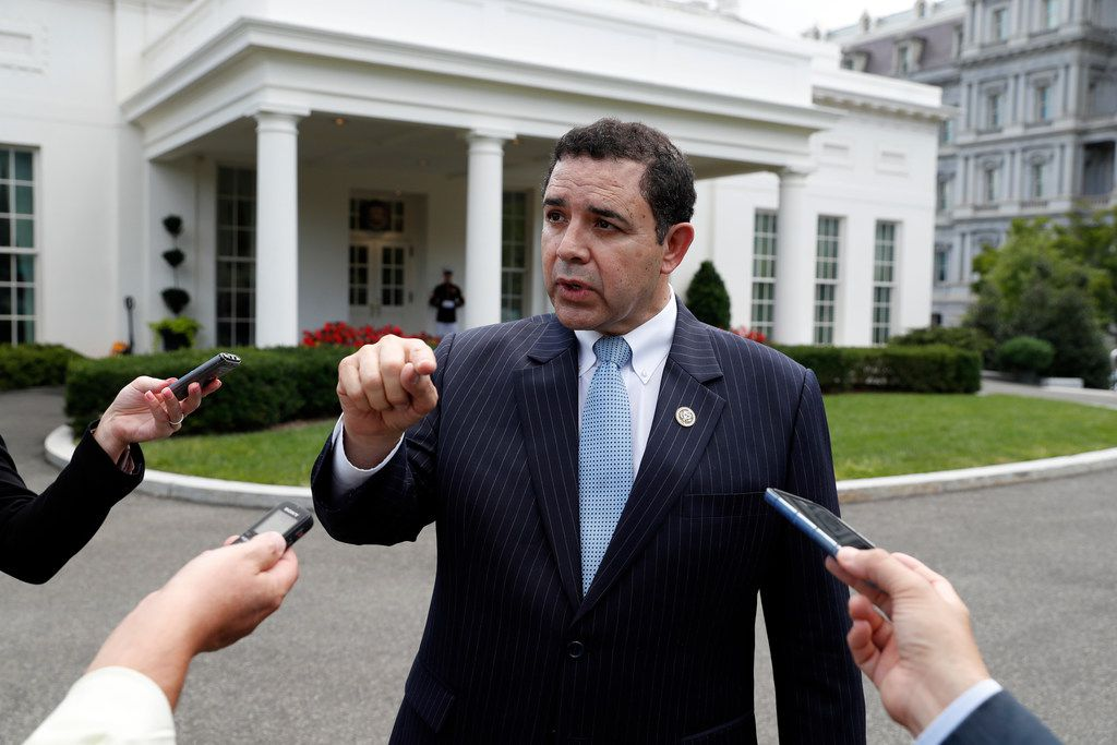 """Rep. Henry Cuellar, D-Laredo, noted that """"when it comes to immigration, everybody has different opinions."""". (AP Photo/Alex Brandon, File)"""