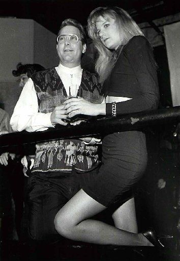 Paul Neinast and Tiffany Porter in 1990