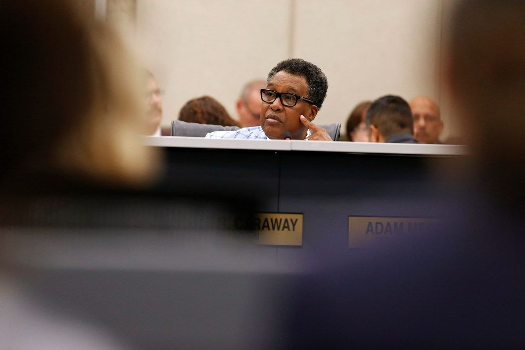 Dwaine Caraway was the District 4 representative on the Dallas City Council.,