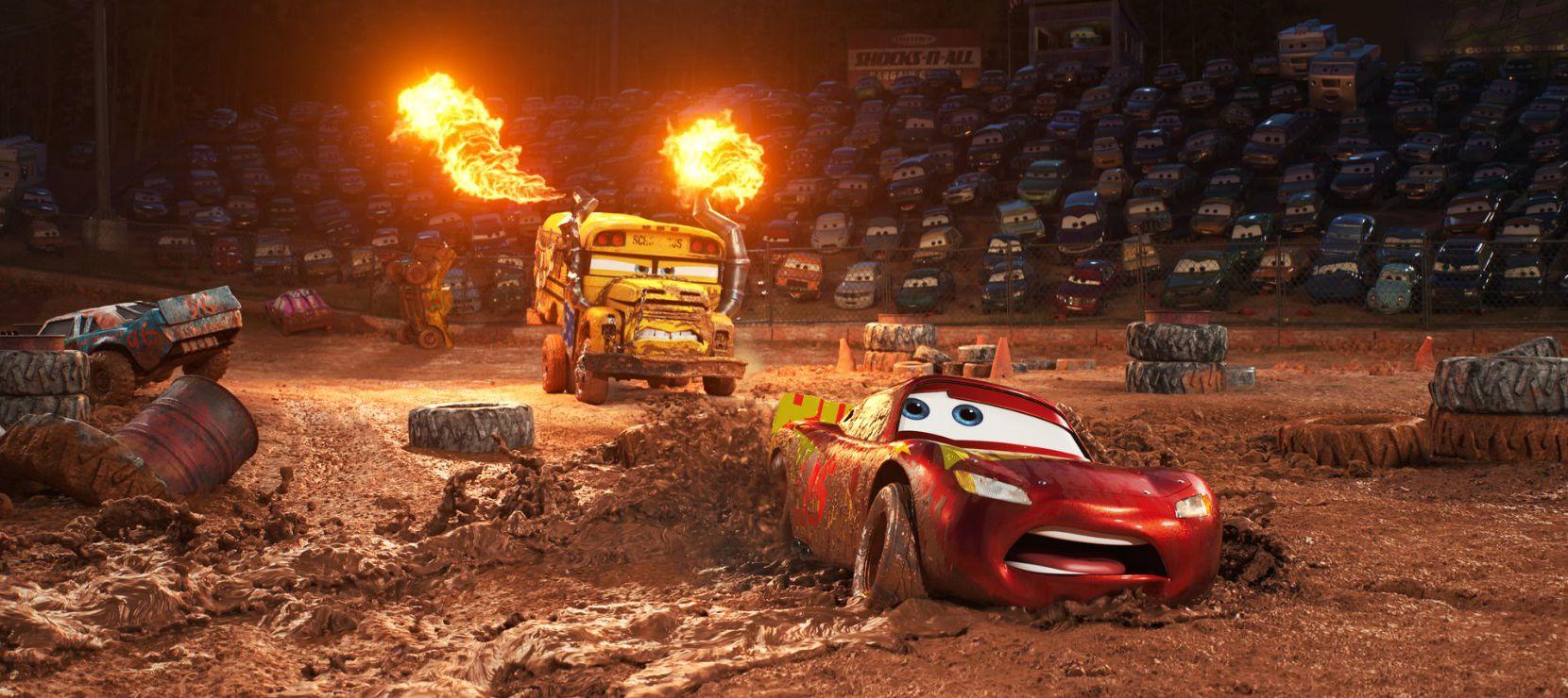Cars 3 de Disney Pixar se estrena este viernes.