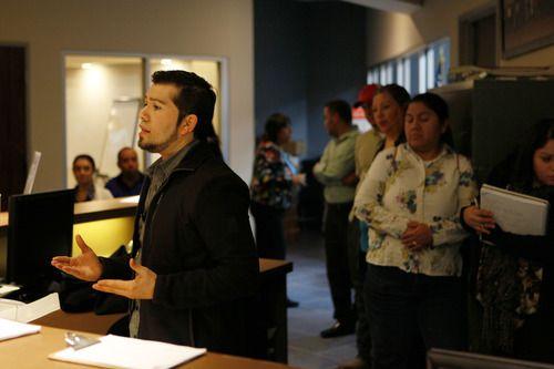 Douglas Interiano, fundador y CEO de Proyecto Inmigrante ICS, una organización basada en Fort Worth, la cuál se enfoca en educar a la comunidad latina del Norte de Texas sobre asuntos migratorios. (BEN TORRES/ESPECIAL PARA AL DÍA)