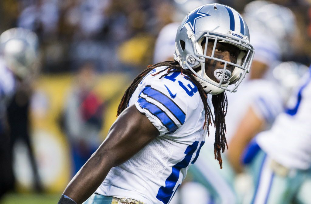 Dallas Cowboys wide receiver Lucky Whitehead (13) waits for a play to be called during the first quarter of their game against the Pittsburgh Steelers on Sunday, November 13, 2016 at Heinz Field in Pittsburgh, Pennsylvania.  (Ashley Landis/The Dallas Morning News)