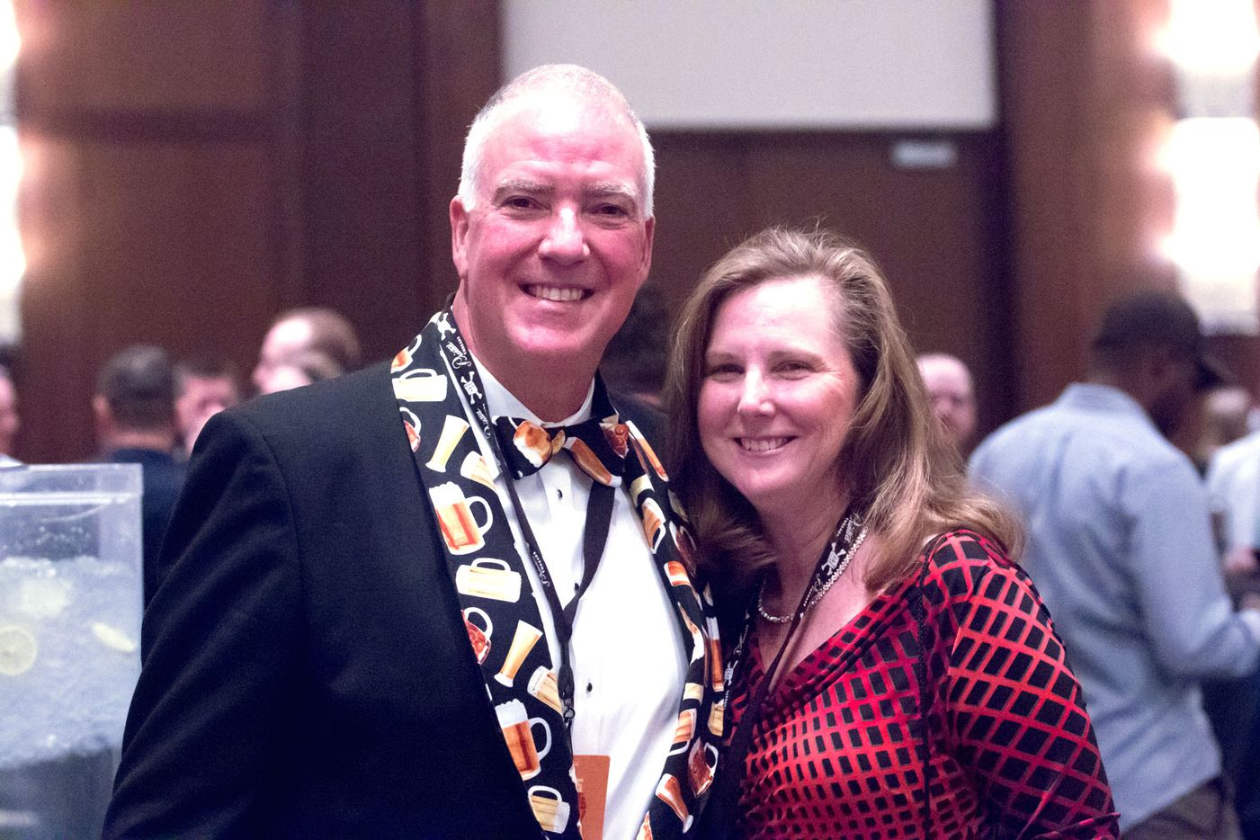 NTX Beer Week held its Second Annual Brewers Ball at the Renaissance Dallas Hotel on November 13, 2015. Walter and Pam Hodges