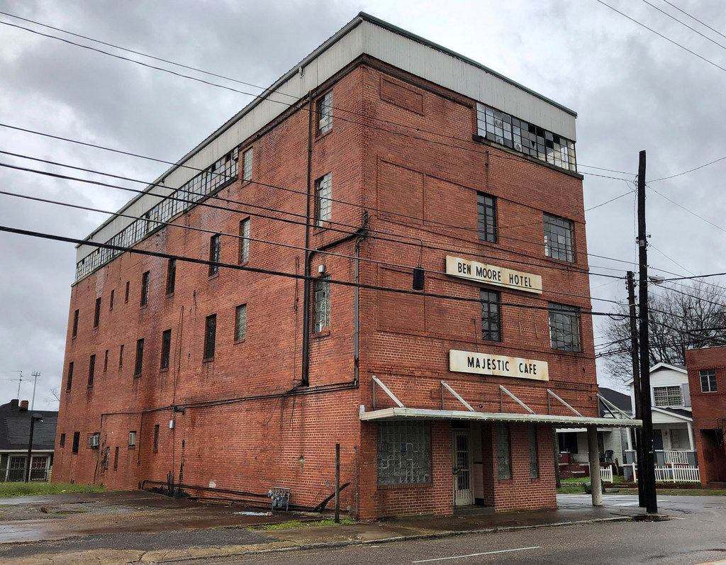 The now-vacant Ben Moore Hotel in Montgomery, Ala., was a Green Book fixture. The Rev. Martin Luther King Jr. often got his hair cut in the hotel barbershop.