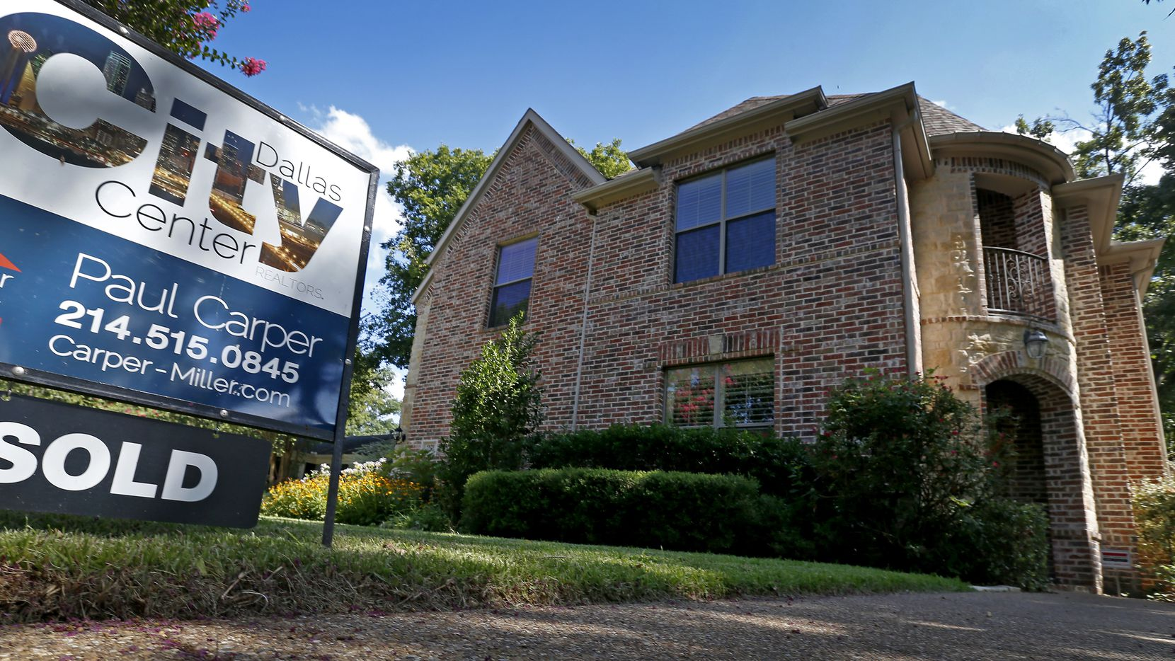 North Texas home sales rose by the greatest rate in almost two years.