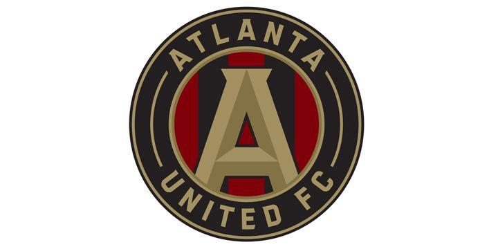 Atlanta United FC logo.
