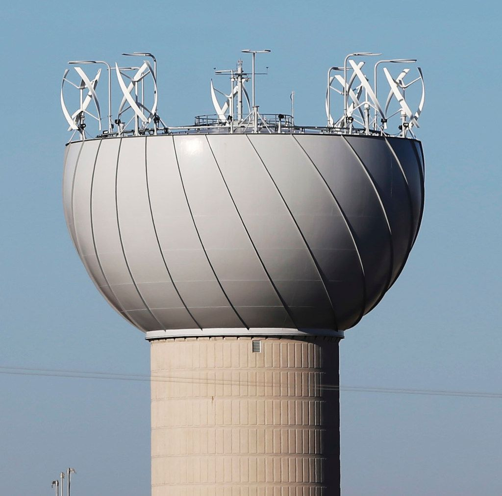 The wind turbines on top of a water tower in Addison caused nothing but grief for the city.