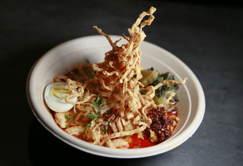 """We have no idea if CrushCraft's khao soi will be one of the dishes featured on """"Diners, Drive-Ins and Dives."""" But we hope so."""
