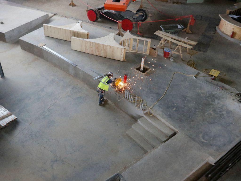 Texas Live — still a maze of concrete next to Rangers' new