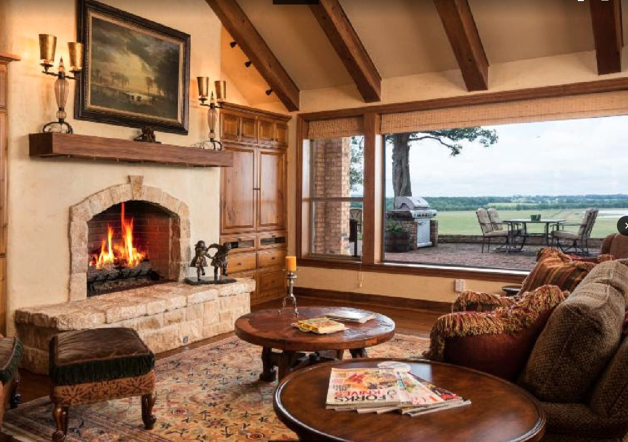Five Creeks Ranch has an owner's home and two other houses on the property.