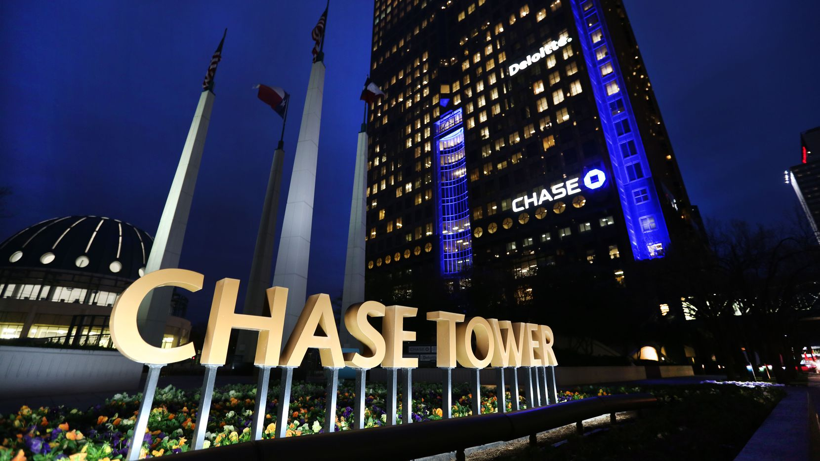 Law firm Alston & Bird rented two floors in Chase Tower.
