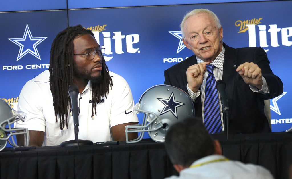 Jerry Jones isn't sure if there's money left for Cowboys' triplets 3.0 after extension of LB Jaylon Smith