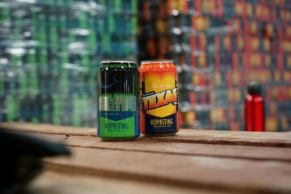 Hop and Sting Brewing Co. currently makes two India pale ales: The Galaxy Haze Belgian-style white IPA and Northeast Texas American IPA.