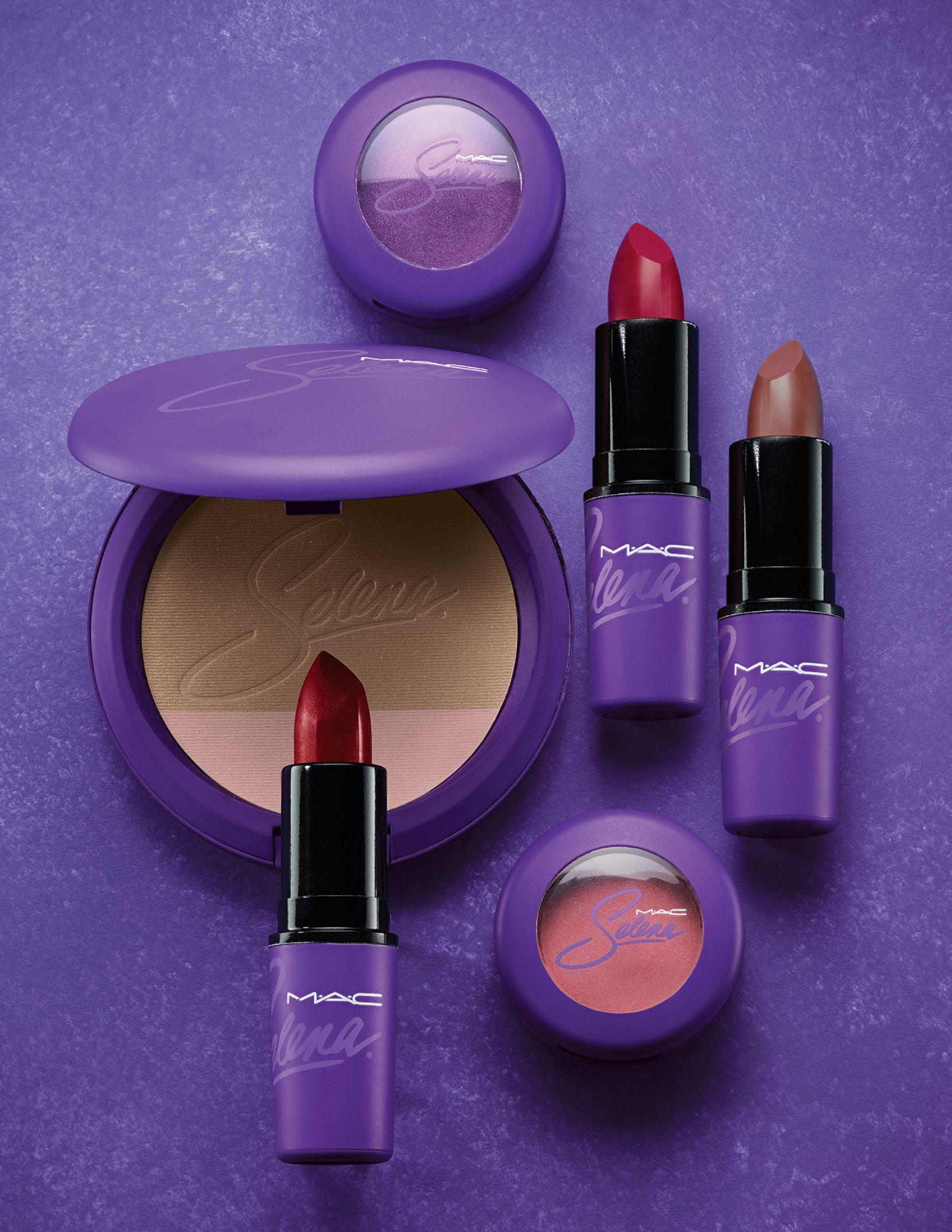 La colección MAC Selena estará disponible por internet el 1 de octubre y en tiendes MAC el 6 de octubre.