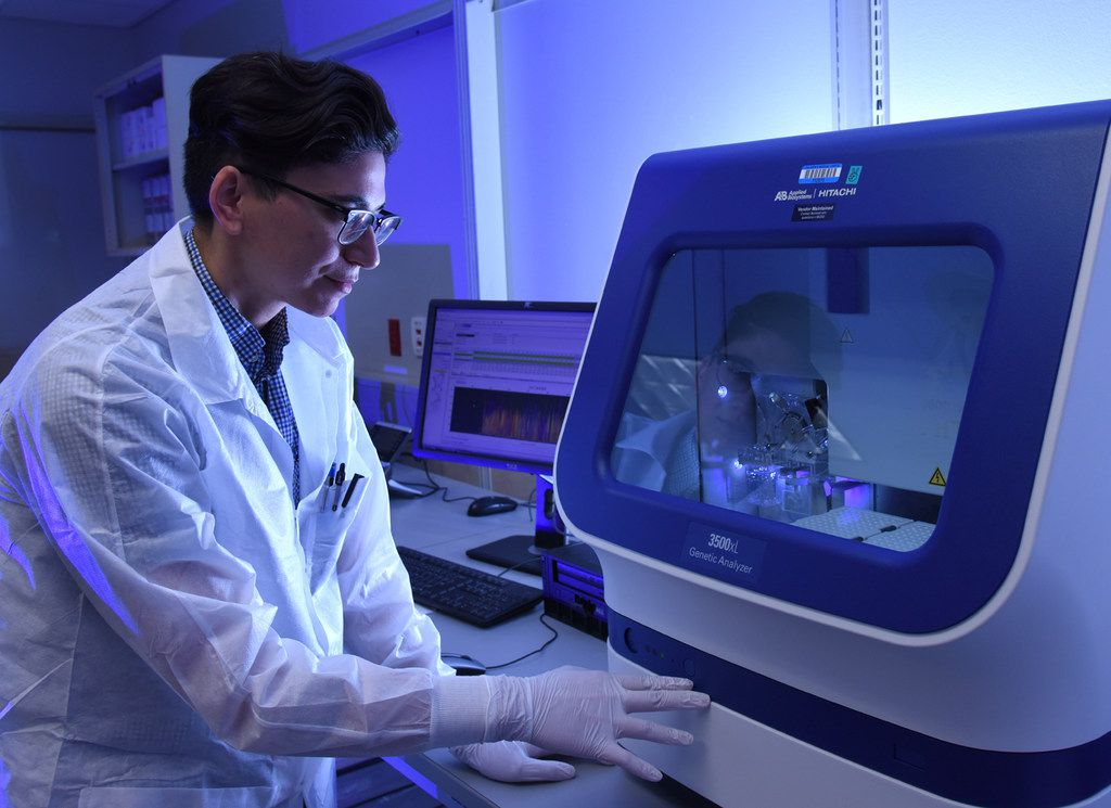 If a disease-causing variant is identified, the lab will run a Sanger single-gene sequencing test to verify the result of the next-generation sequencing.