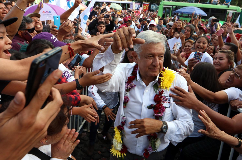Andrés Manuel López Obrador ganó las elecciones presidenciales luego de su tercer intento. Getty Images