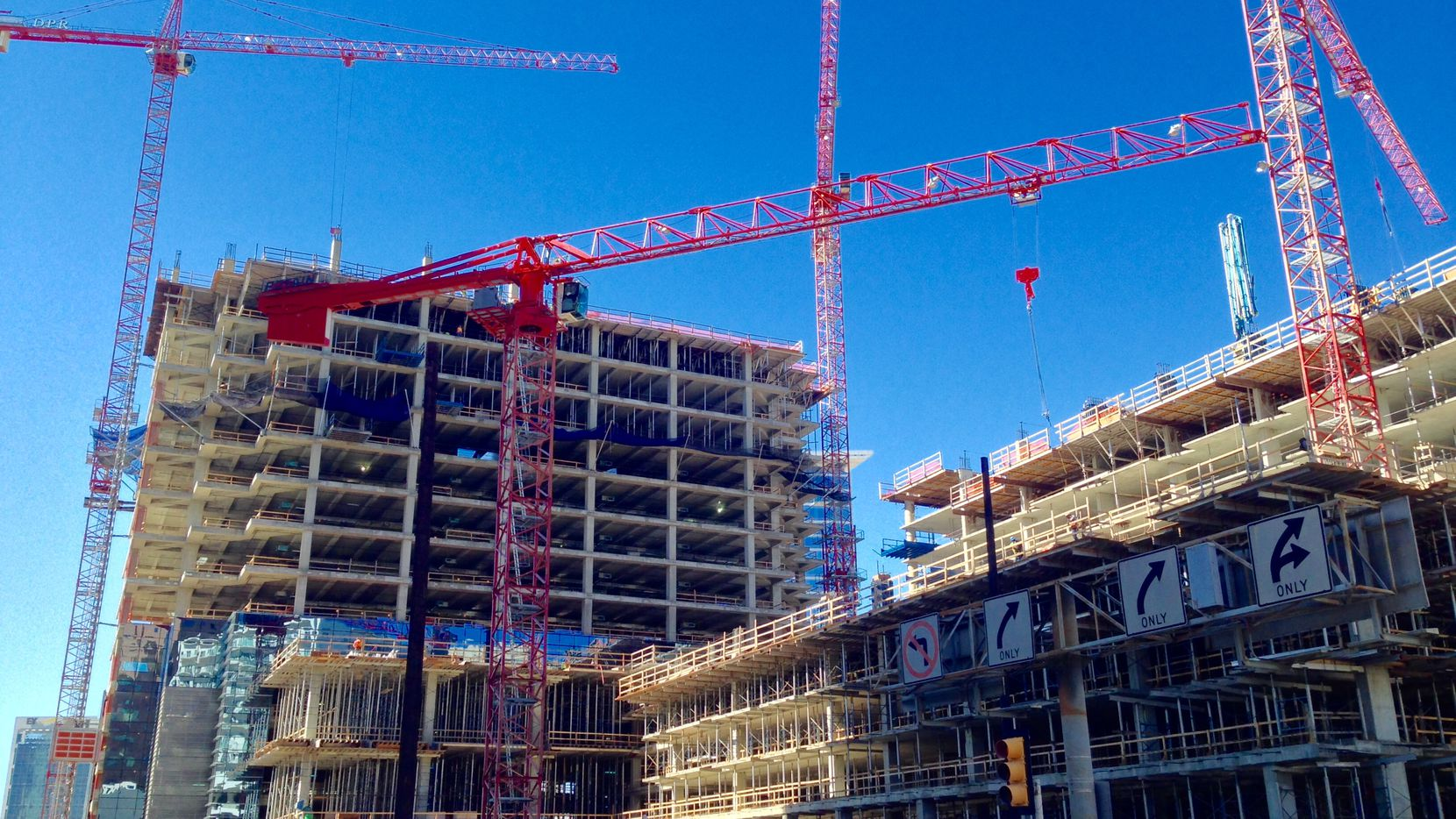 More than 5 million square feet of office space is being built in the D-FW area.
