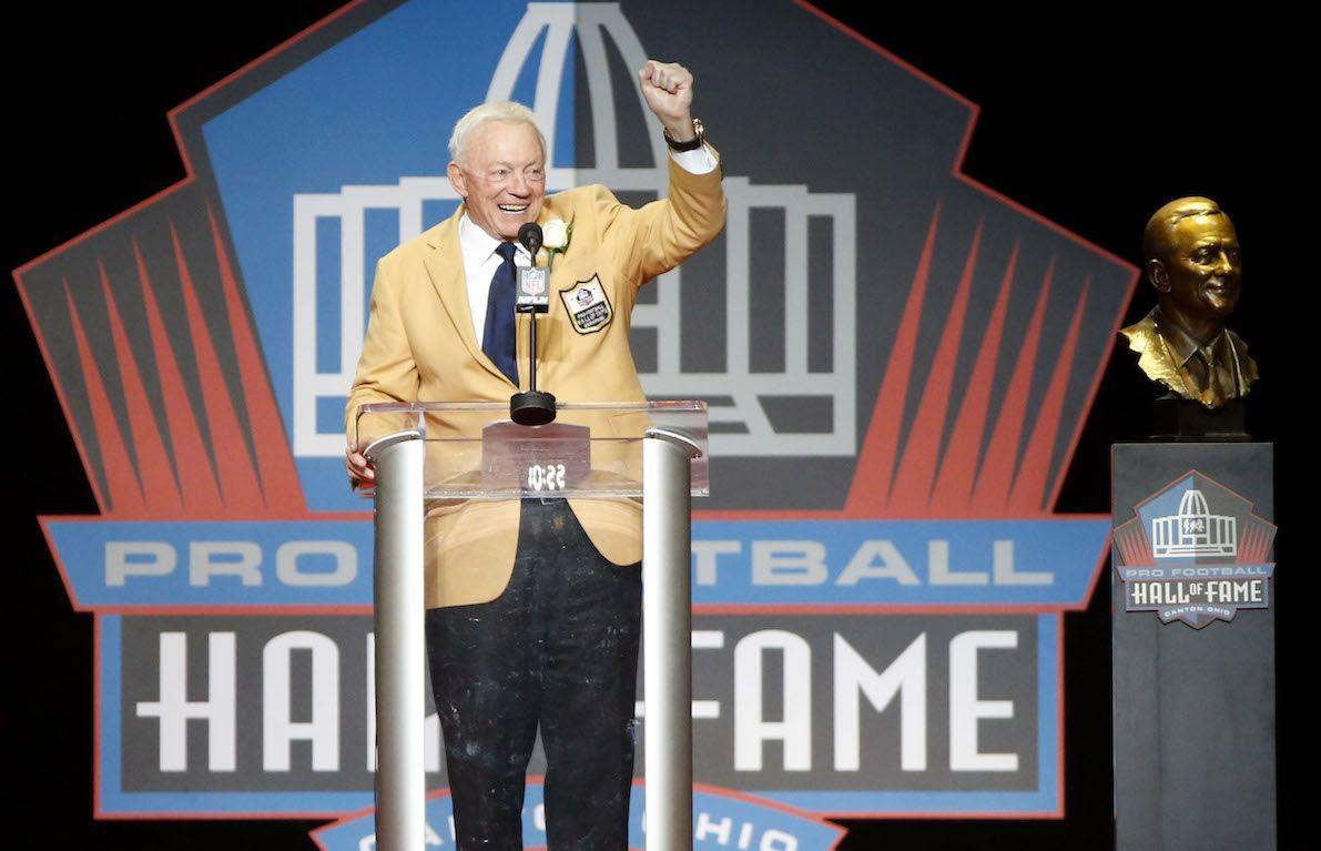 Jerry Jones, dueño de los Cowboys de Dallas. AP