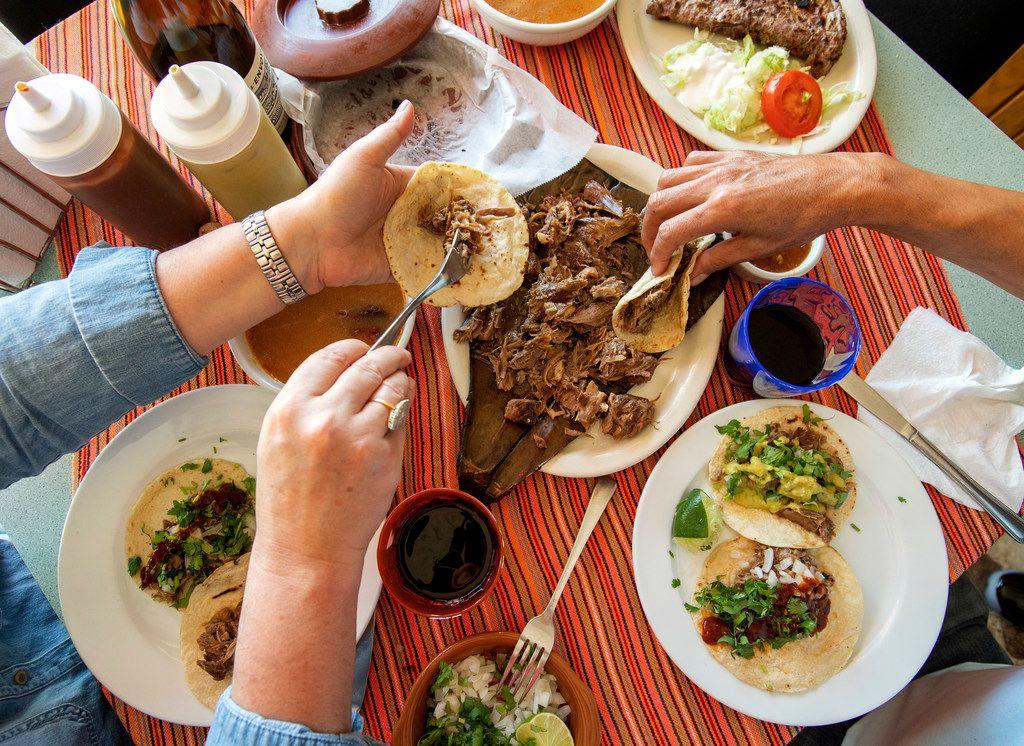 Barbacoa de borrego meets BYOB at Ana's Restaurant in Dallas.