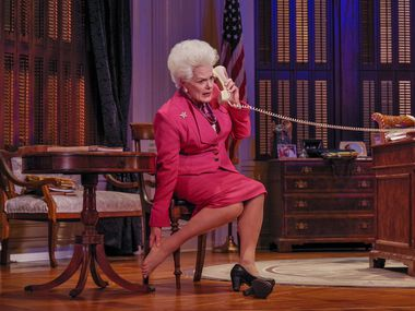 Fort Worth actress Libby Villari plays Texas Gov. Ann Richards in Holland Taylor's one-woman show Ann.