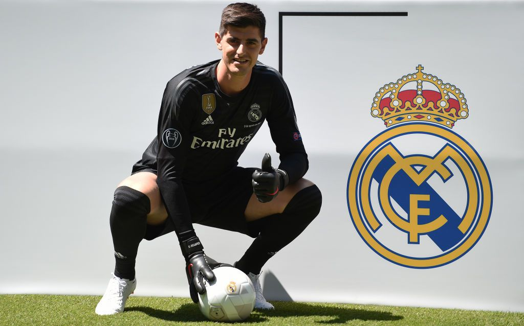 Thibaut Courtois llegó el miércoles al Real Madrid. (Photo by Denis Doyle/Getty Images)