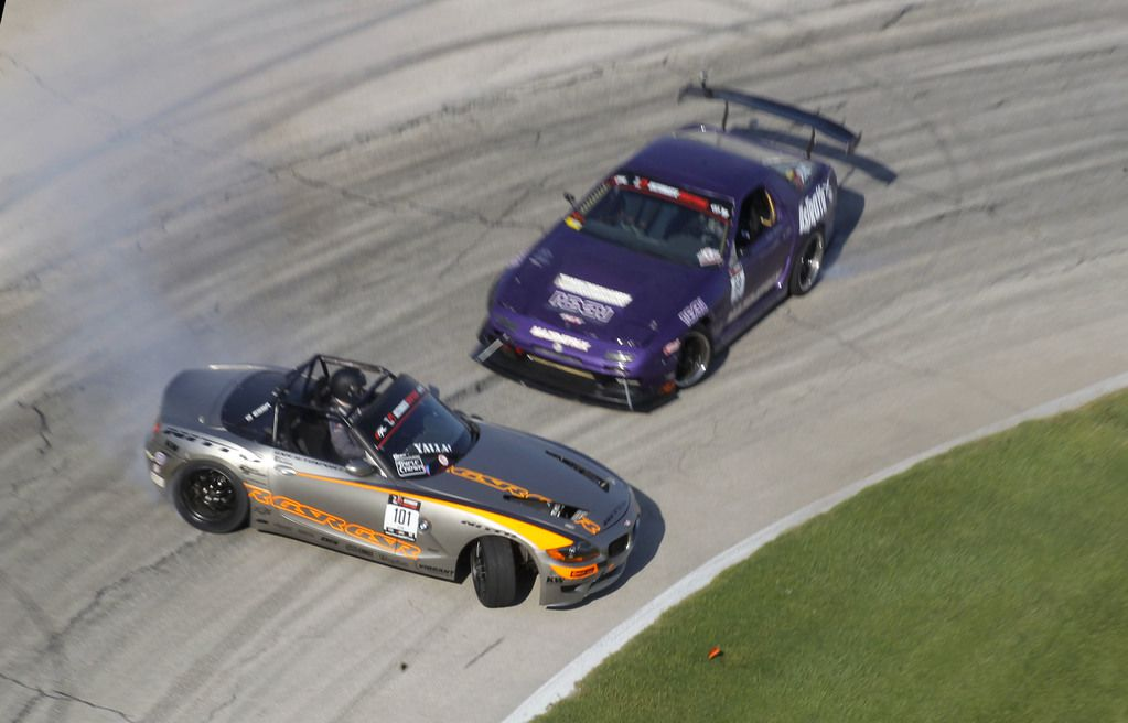 Formula Drift  se corre el sábado en el Texas Motor Speedway. (Star-Telegram/Rodger Mallison)