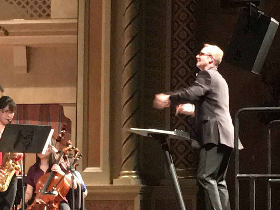 James O. Welsch, music director for the El Paso Youth Orchestra, served as conductor for the  performance featuring young musicians from both sides of the border.