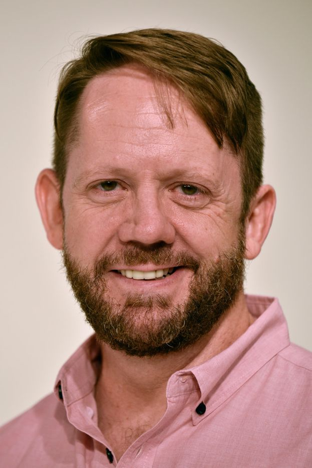Tim Johnson of Kitchen Dog Theater.