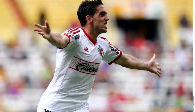 Gabriel Hauche anotó el gol de Tijuana para el 1-1 ante Santos el sábado.(AGENCIA REFORMA)
