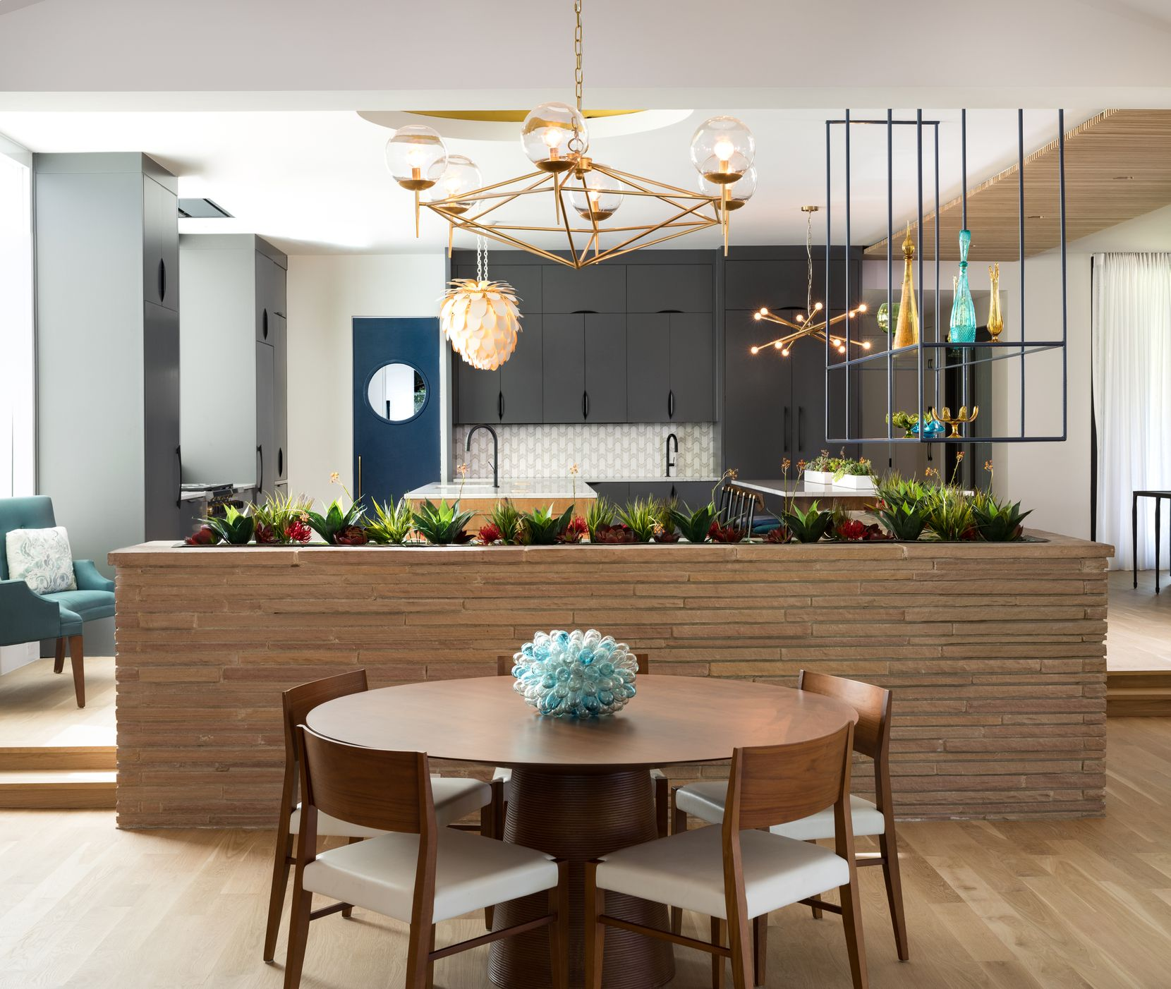 One of the tour's standouts is a Lakewood residence that the architecture firm Maestri Studio wrapped up redoing this year.