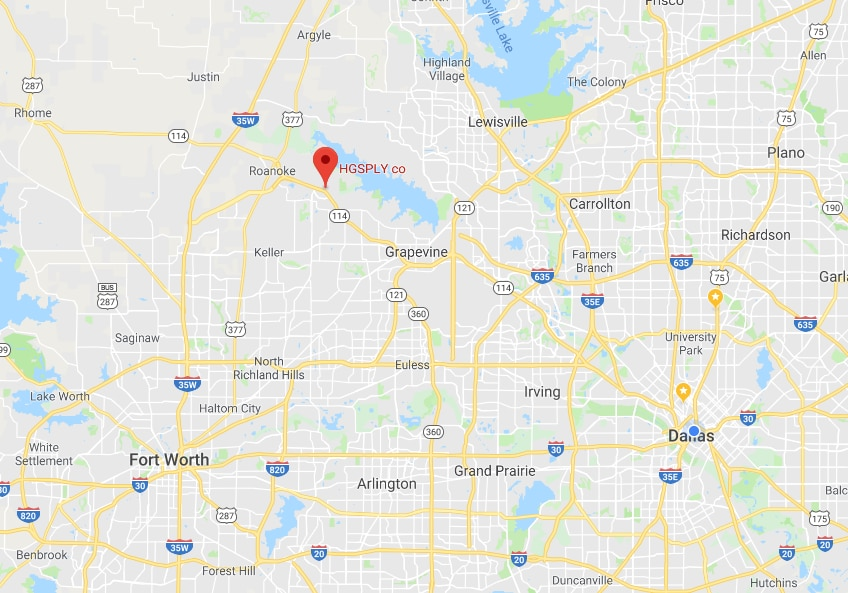 Remind me where Trophy Club is again? It's about 30 miles northwest of Dallas and an 11-mile drive to DFW International Airport.