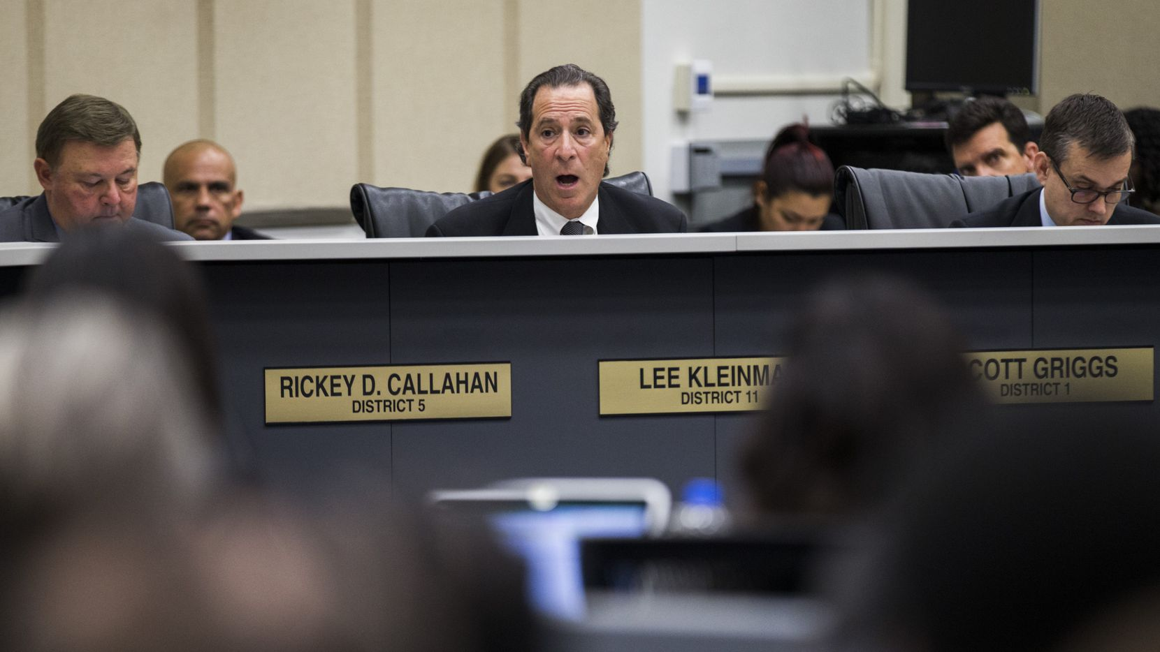 Dallas City Council member Lee Kleinman was the only council member to publicly oppose giving raises to Dallas public safety workers.