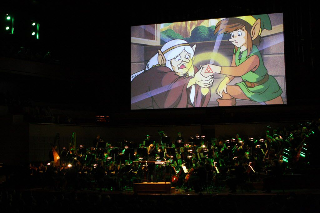 The Legend of Zelda: Symphony of the Goddesses came to the Meyerson in 2012.
