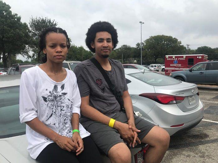María Javier y José Gutiérrez se cansaron de los huracanes y ya decidieron quedarse en Dallas. ELVIA LIMÓN/DMN