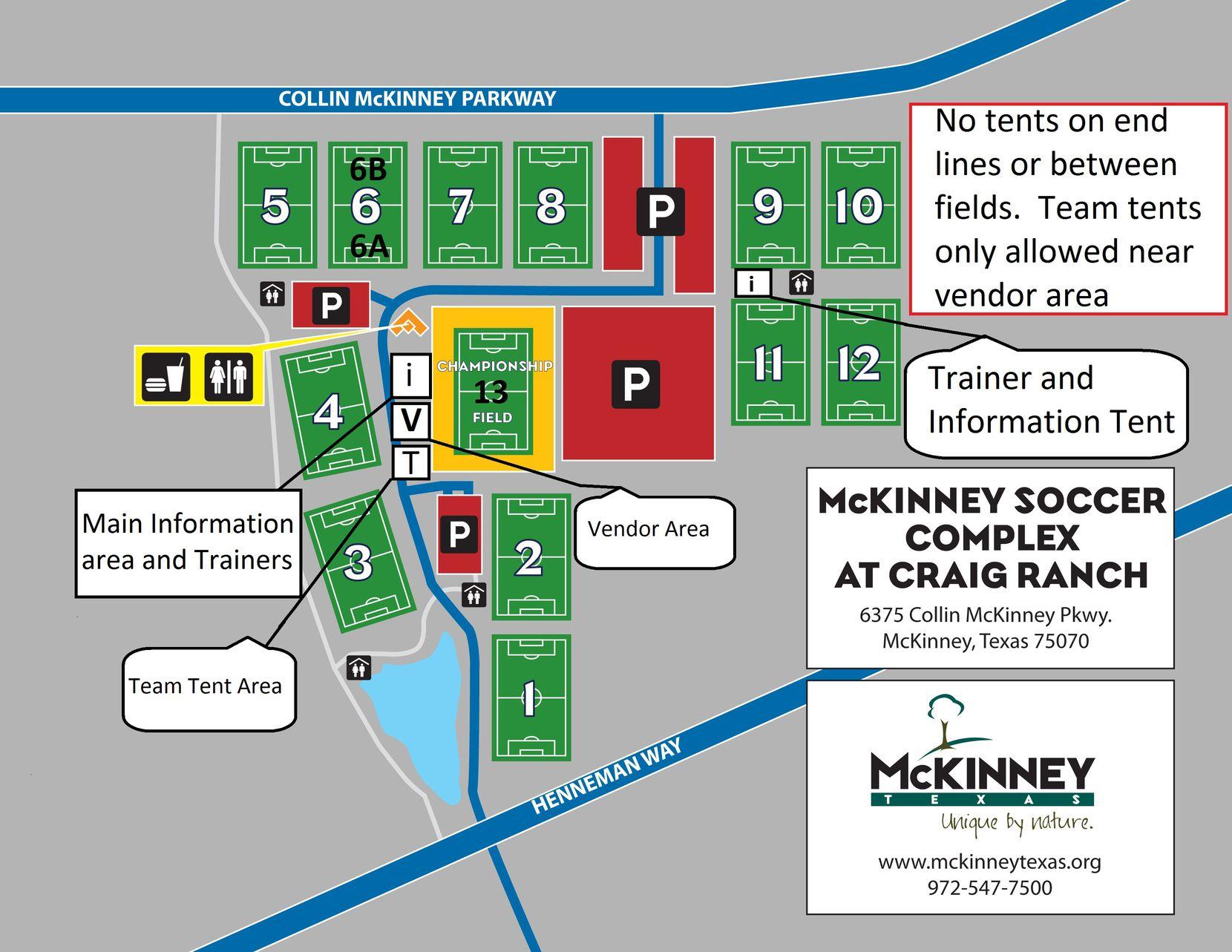 McKinney Soccer Complex at Craig Ranch