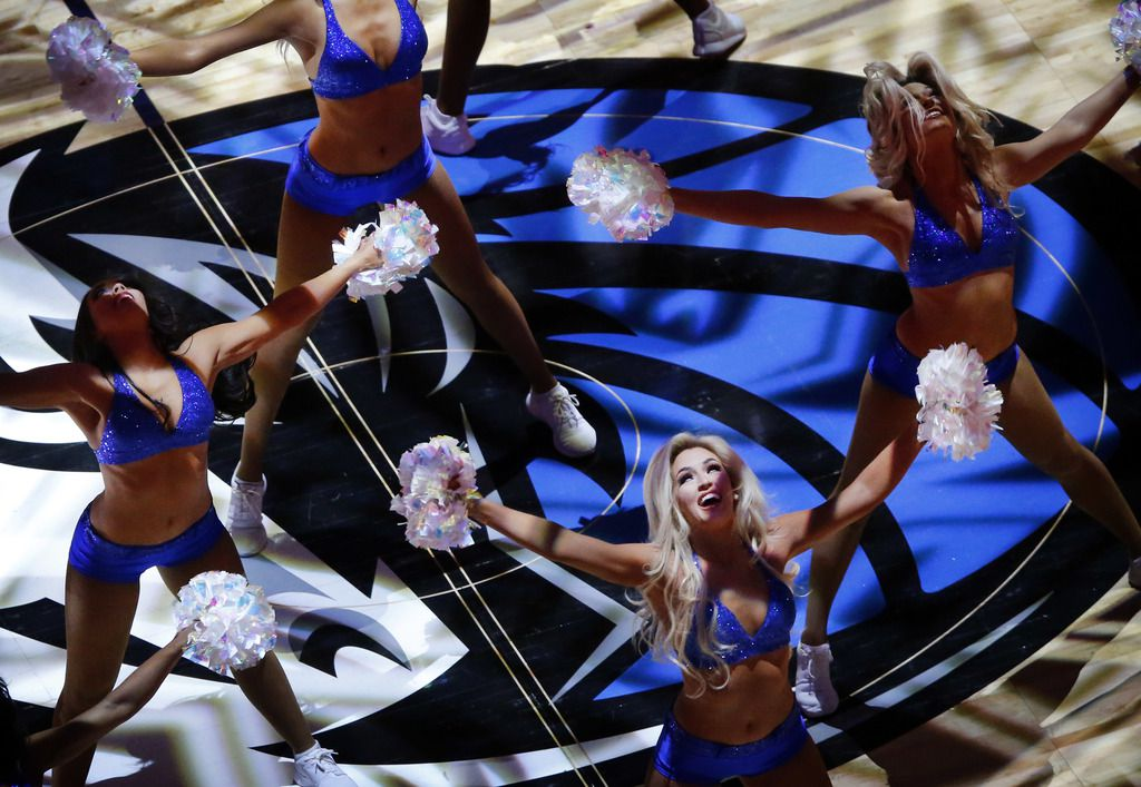 The Dallas Mavericks Dancers performed before a game against the Chicago Bulls last season at American Airlines Center.