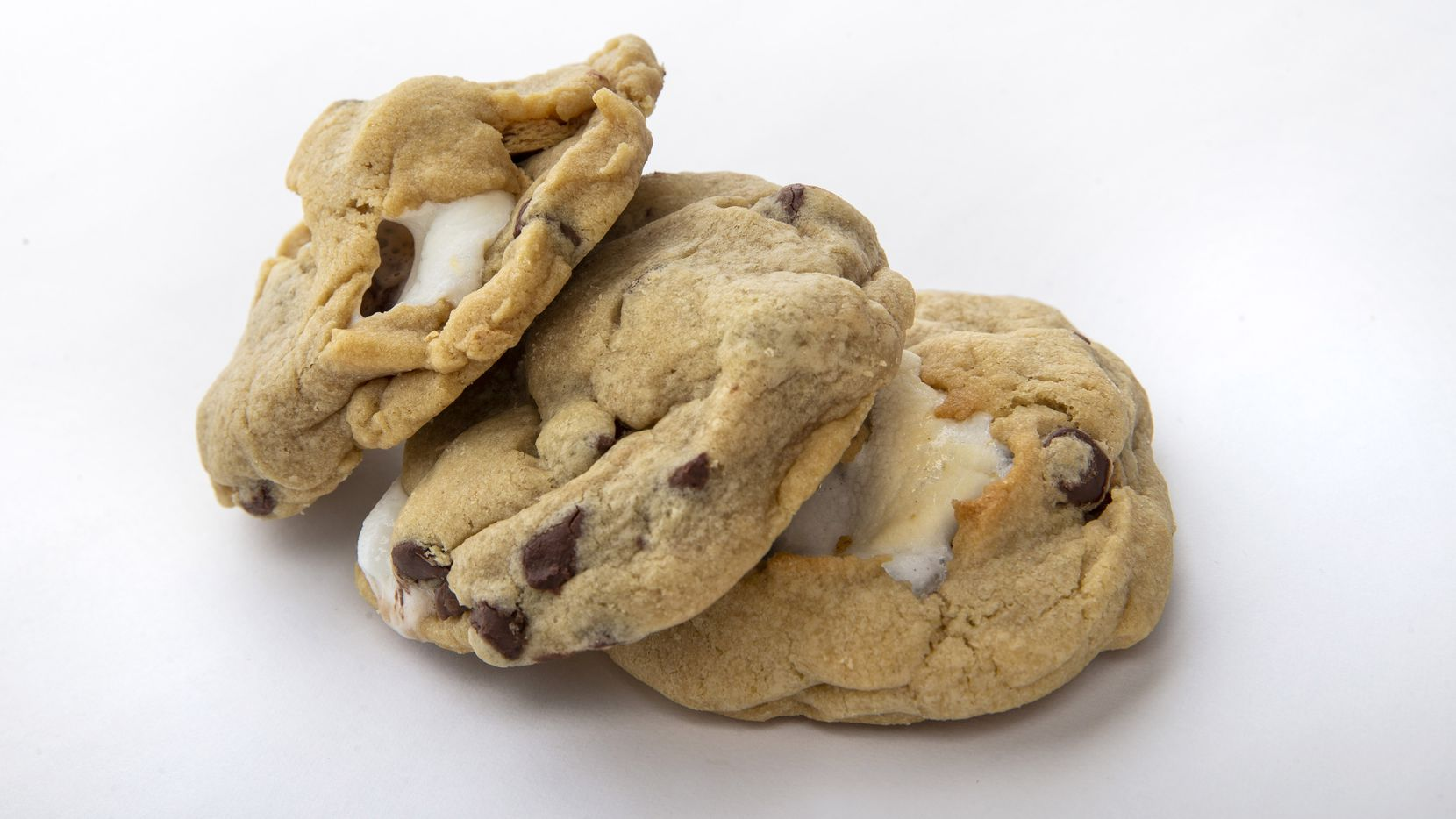 The s'mores chocolate chip cookie made by Luna Hartgrove won second place in the kid's choice cookie category of the 24th annual Holiday Cookie Contest hosted by The Dallas Morning News.