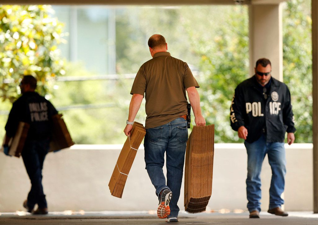 Police conducted a raid on the Catholic Diocese of Dallas on May 15.