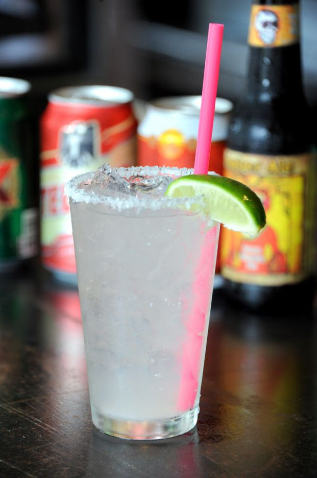 The bar offers margaritas and beer at La Ventana in Addison, TX on May 7, 2015. (Alexandra Olivia/ Special Contributor)