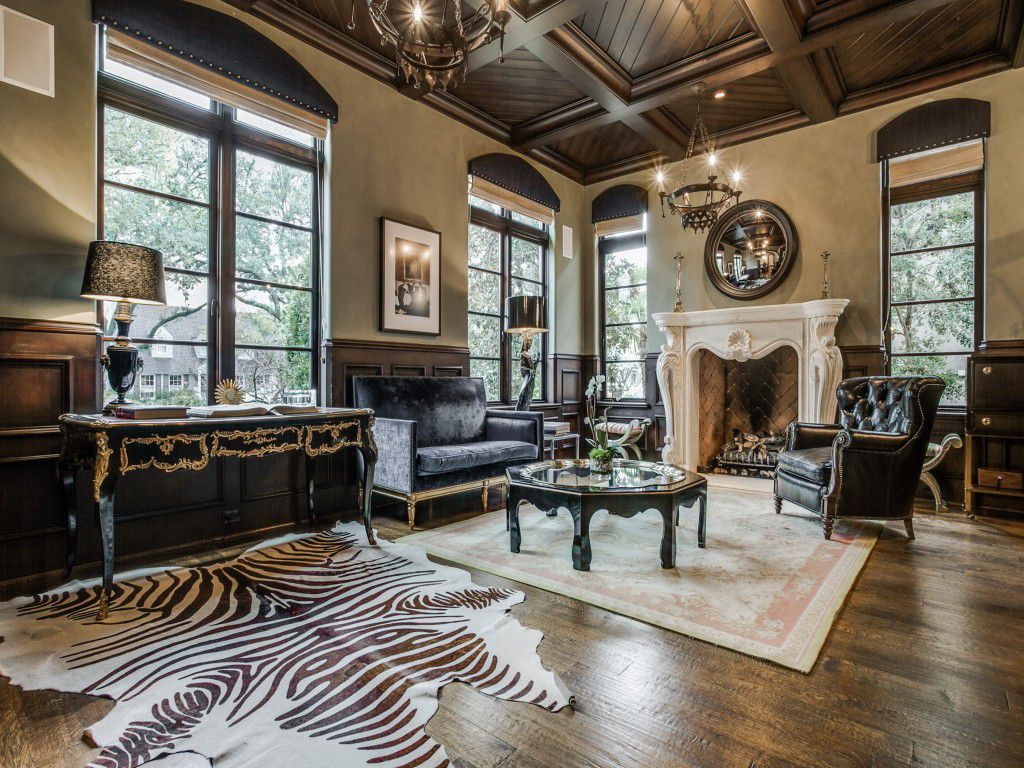 Michael Young's University Park home is up for sale.