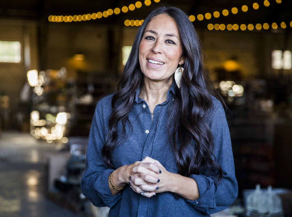 Joanna Gaines, host of HGTV's Fixer Upper, talks about her and her husband Chip's new store, Magnolia Market at the Silos on Thursday, October 29, 2015 at Magnolia Market at the Silos in Waco, Texas.   (Ashley Landis/The Dallas Morning News)  -- MANDATORY CREDIT, TV OUT, MAGS OUT, NO SALES, INTERNET USE BY AP MEMBERS ONLY