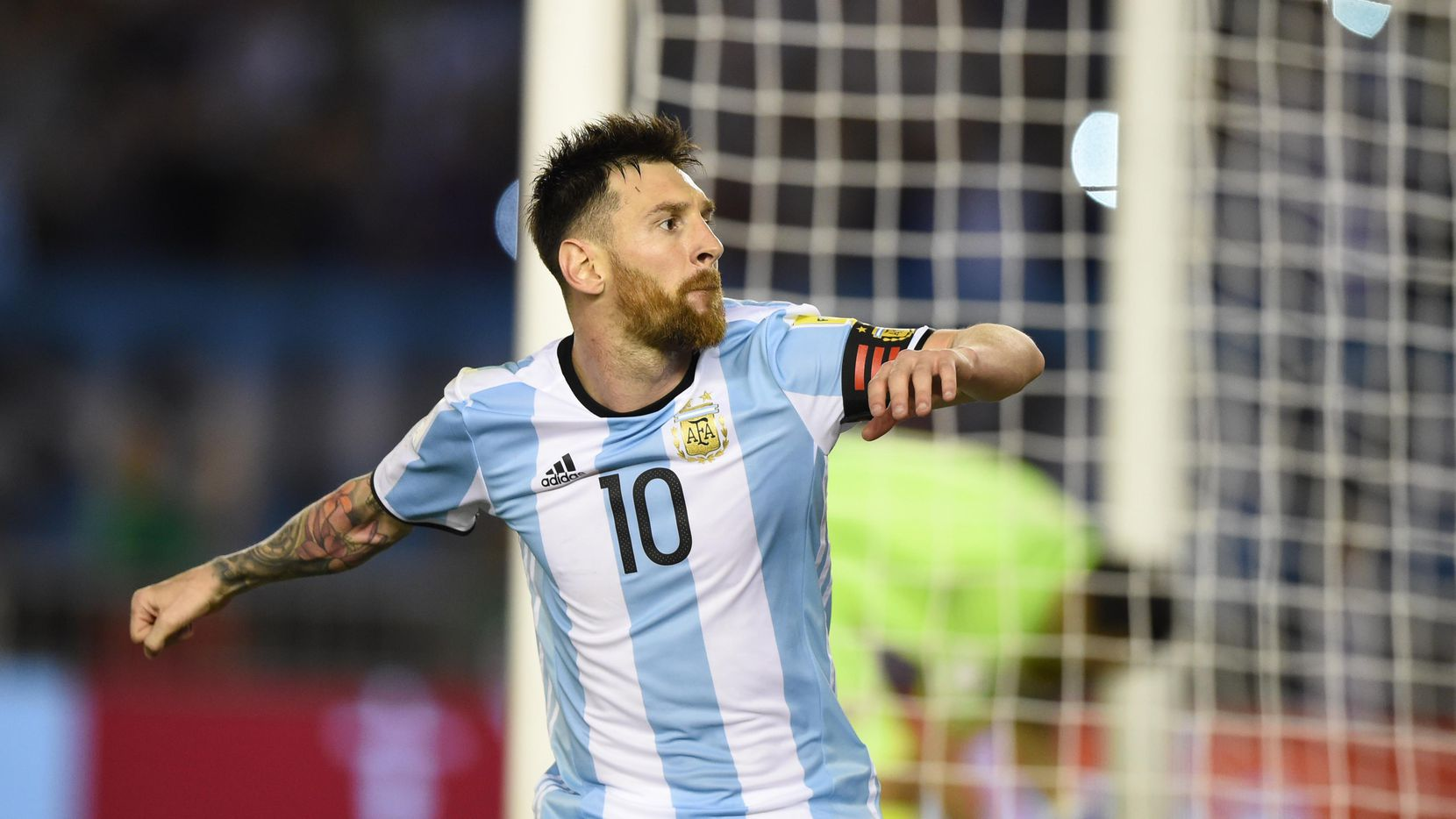 Lionel Messi prometió ir a la Virgen de San Nicolás si gana Argentina la Copa del Mundo. (AFP/Getty Images/EITAN ABRAMOVICH)