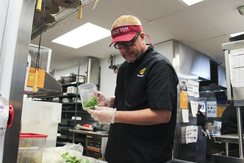 Michael Roper, president and CEO of Dallas-based Taco Bueno, went incognito on the TV show Undercover Boss.