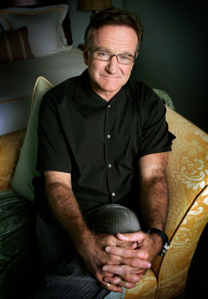 Robin Williams' suicide in 2014 put a focus on concerns about the language we use when discussing mental illness. (File Photo/The Associated Press)