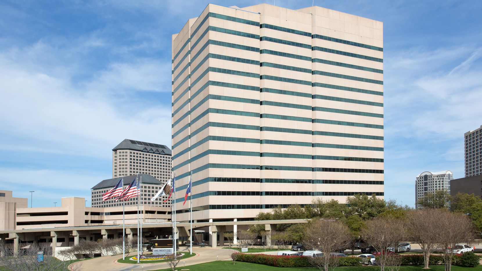 The office buildings in Las Colinas' Urban Center were built in the 1980s.