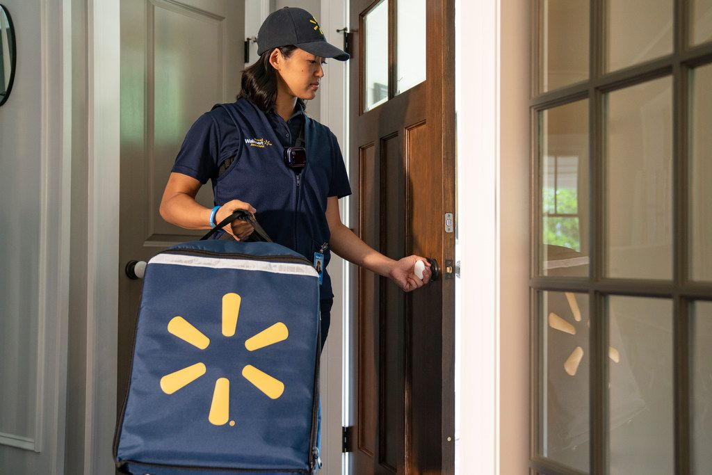 Walmart InHome grocery delivery service will begin in fall 2019.