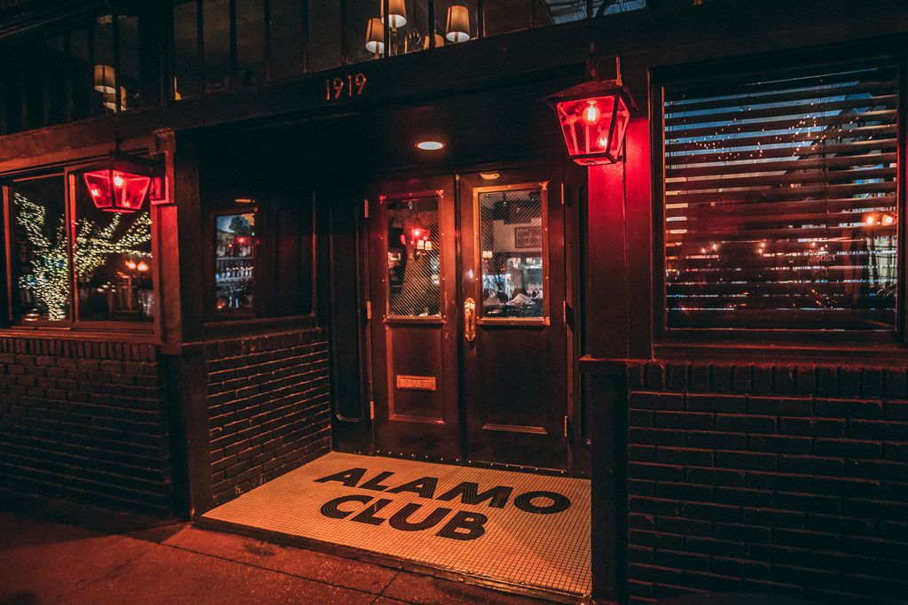 Alamo Club is located at 1919 Greenville Ave. in Dallas, where Blind Butcher was.