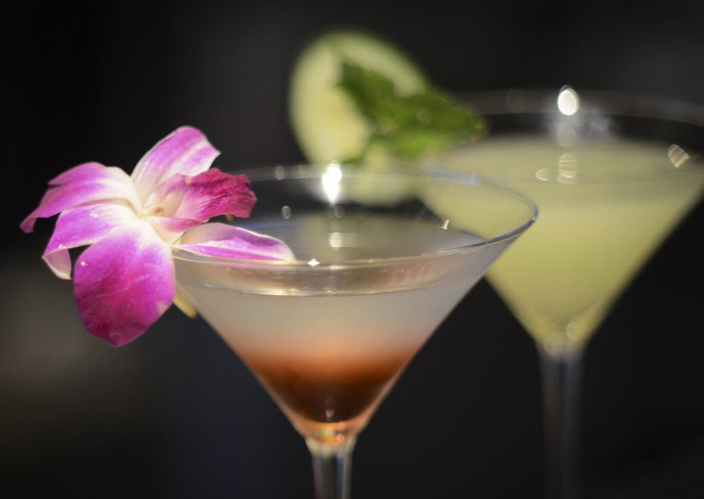 Cocktails at Happiest Hour
