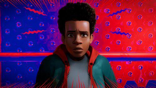 """Miles Morales, con voz de Shameik Moore en """"Spider-Man: Into the Spider-Verse. (Sony Pictures Animation)"""